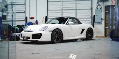 Porsche Boxster Gets OZ Wheels from SR Auto