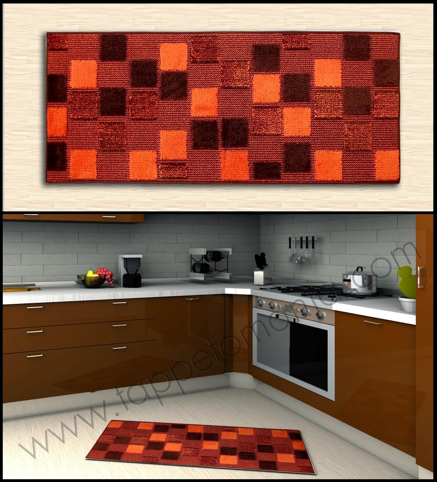 Tappeti cucina colore arancione tappeti tappeti cucina for Tappeti x cucina moderni