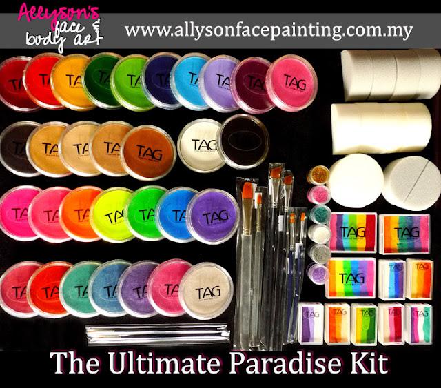 Tag Face Paint Colours