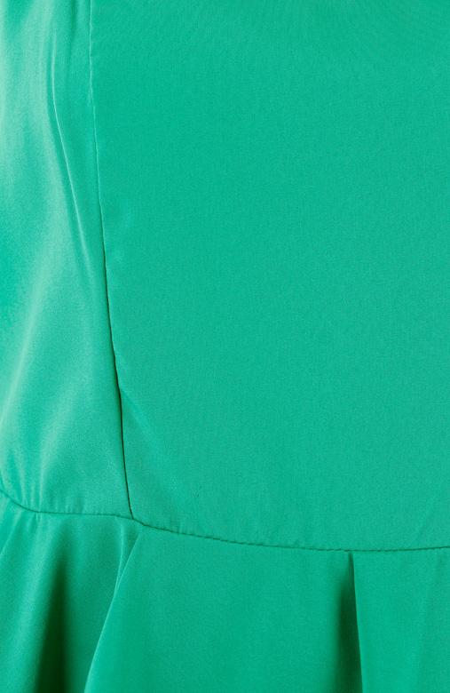 Emerald Sweetheart Peplum Top