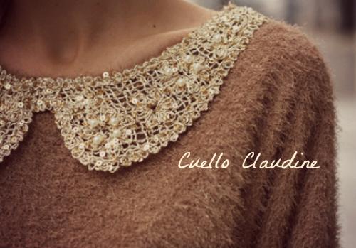Cuello Claudine Sidonie Gabrielle Colette