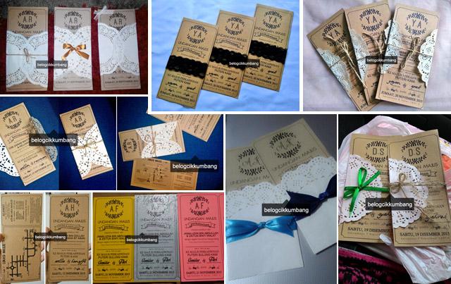 Kad Kahwin Craft Paper