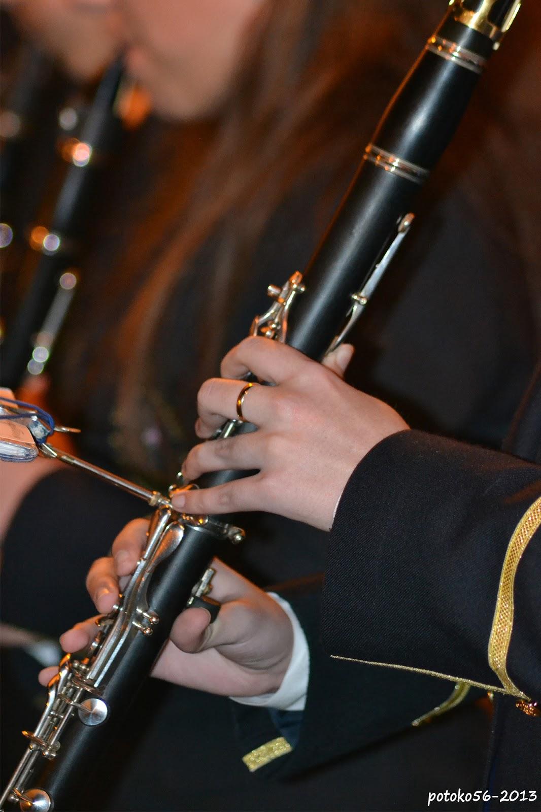 La Manos  del Clarinetista