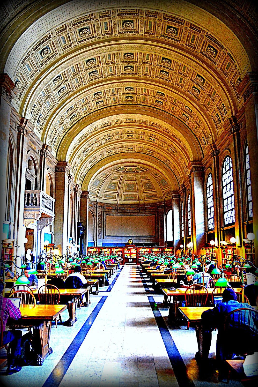 bates hall, bpl.org, boston public library, boston, reading room, reading