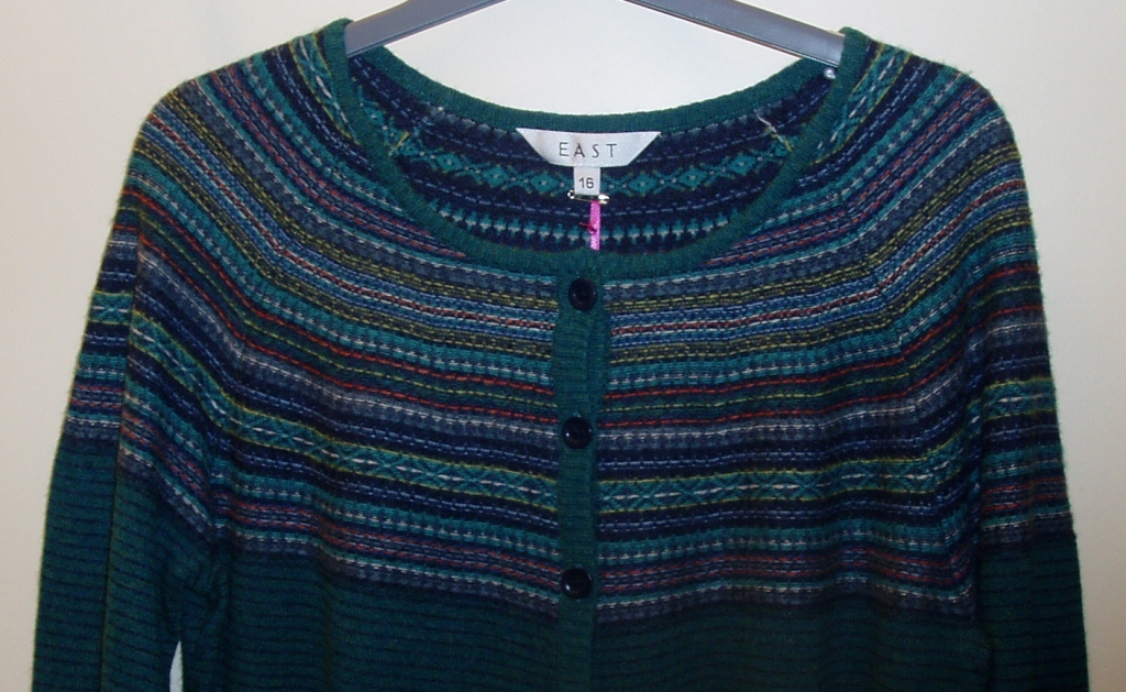 Knitting Now and Then: Inside-Out Fair Isle