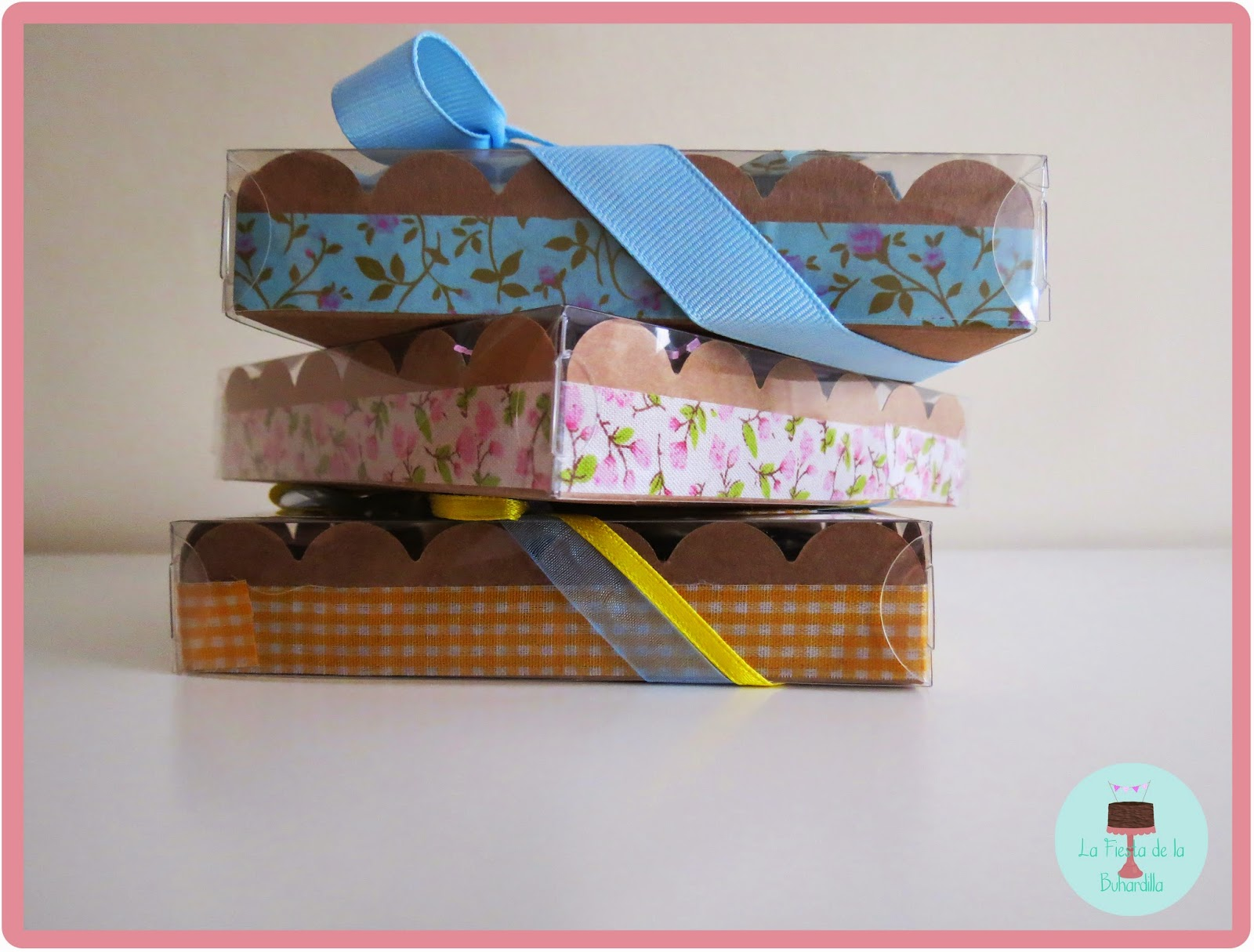 cajitas decoradas con washi tape