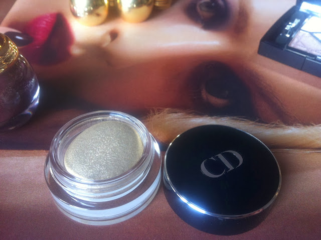 DIOR Natale 2013 Golden Winter Collection make up diorshow fusion mono eyeshadow ombretto in crema
