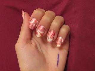 marble nail art-133