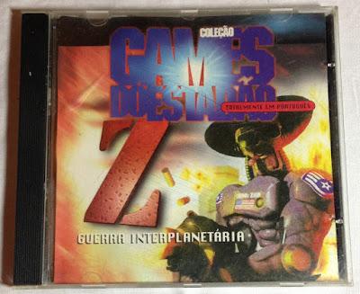 Jogo Z Guerra Interplanetária PC CD Capa