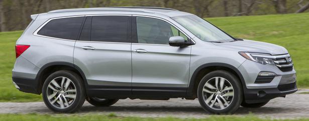 Latest Honda Pilot 2016 Model Hondas Three Row SUV Back With A Greater Degree