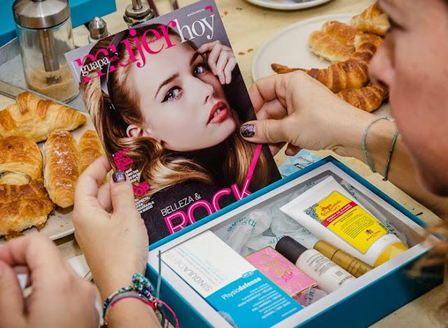 """Guapabox La nueva """"Beauty Box"""" de la revista Mujer Hoy"""