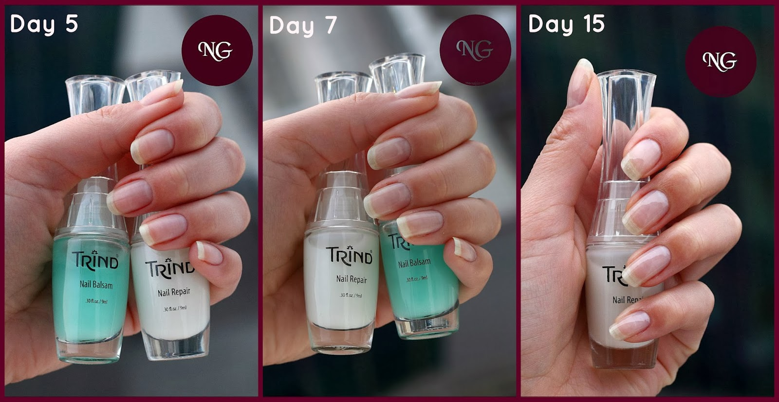 Nailglaze Trind Natural Nail Care After 2 Weeks Of Use
