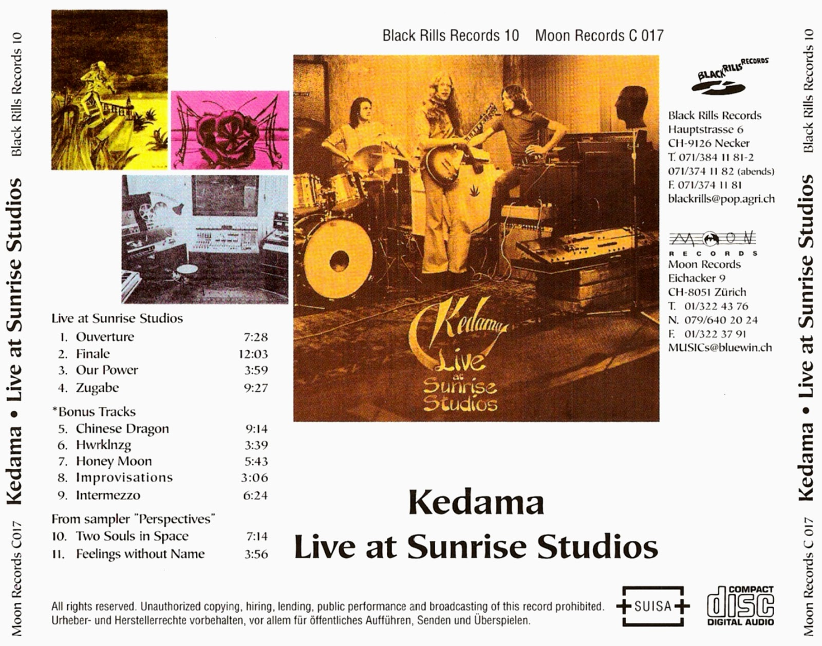 Kedama Live At Sunrise Studios