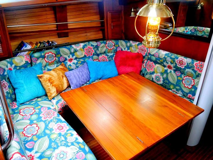 Sailboat Interiors