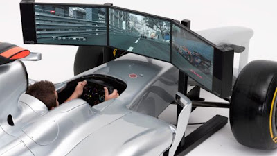 simulator racing car