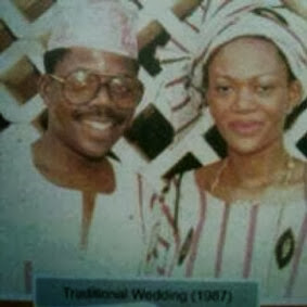 Bola Tinubu and Remi Tinubu then and now