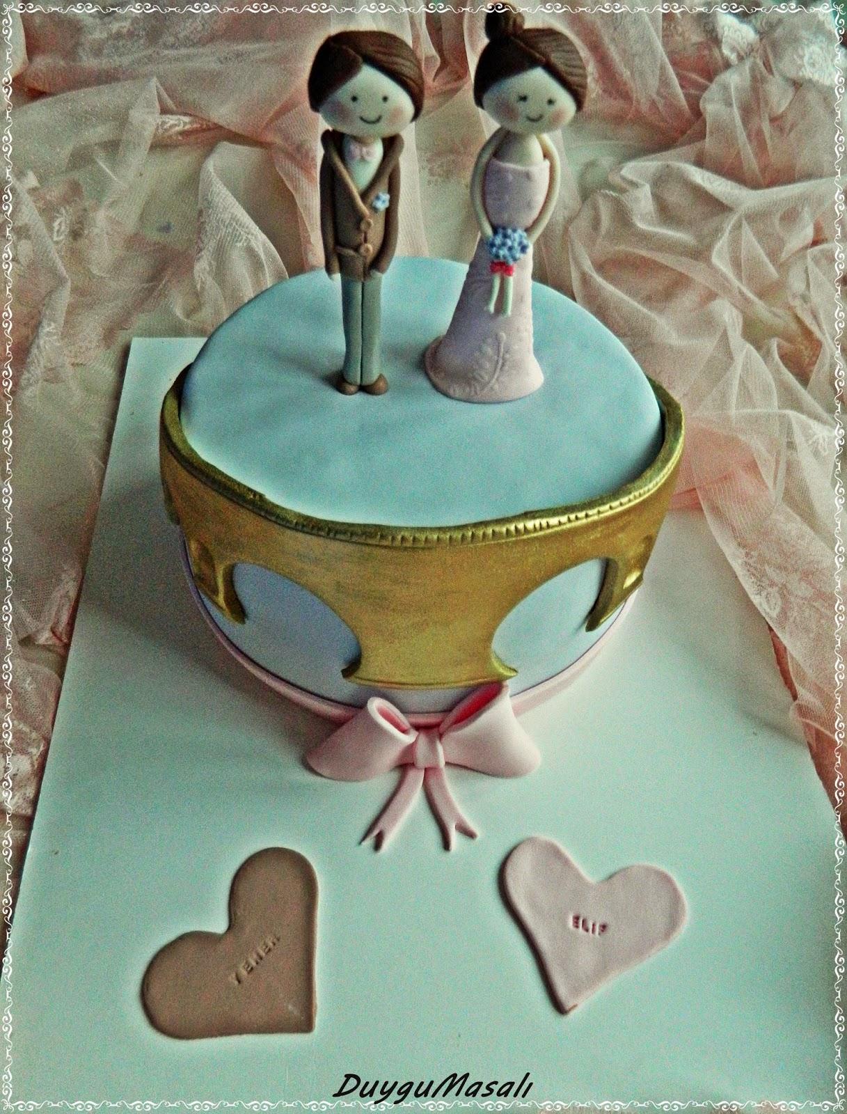 edirne butik nişan pastası