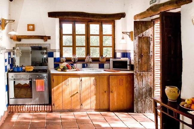 Estilo rustico casa de piedra rustica en andalucia - Casas tipicas andaluzas ...