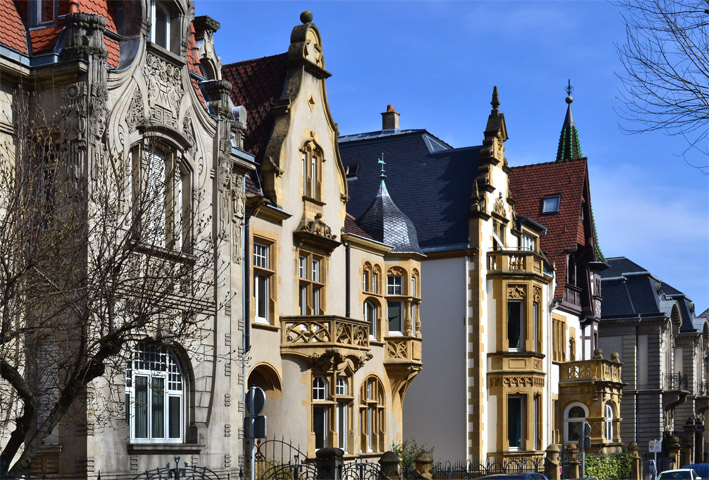 Metz avenue foch for Architecture neo gothique