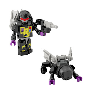 Hasbro Transformers Kre-O Micro Changers Series 2 - Kickback (Insecticon)