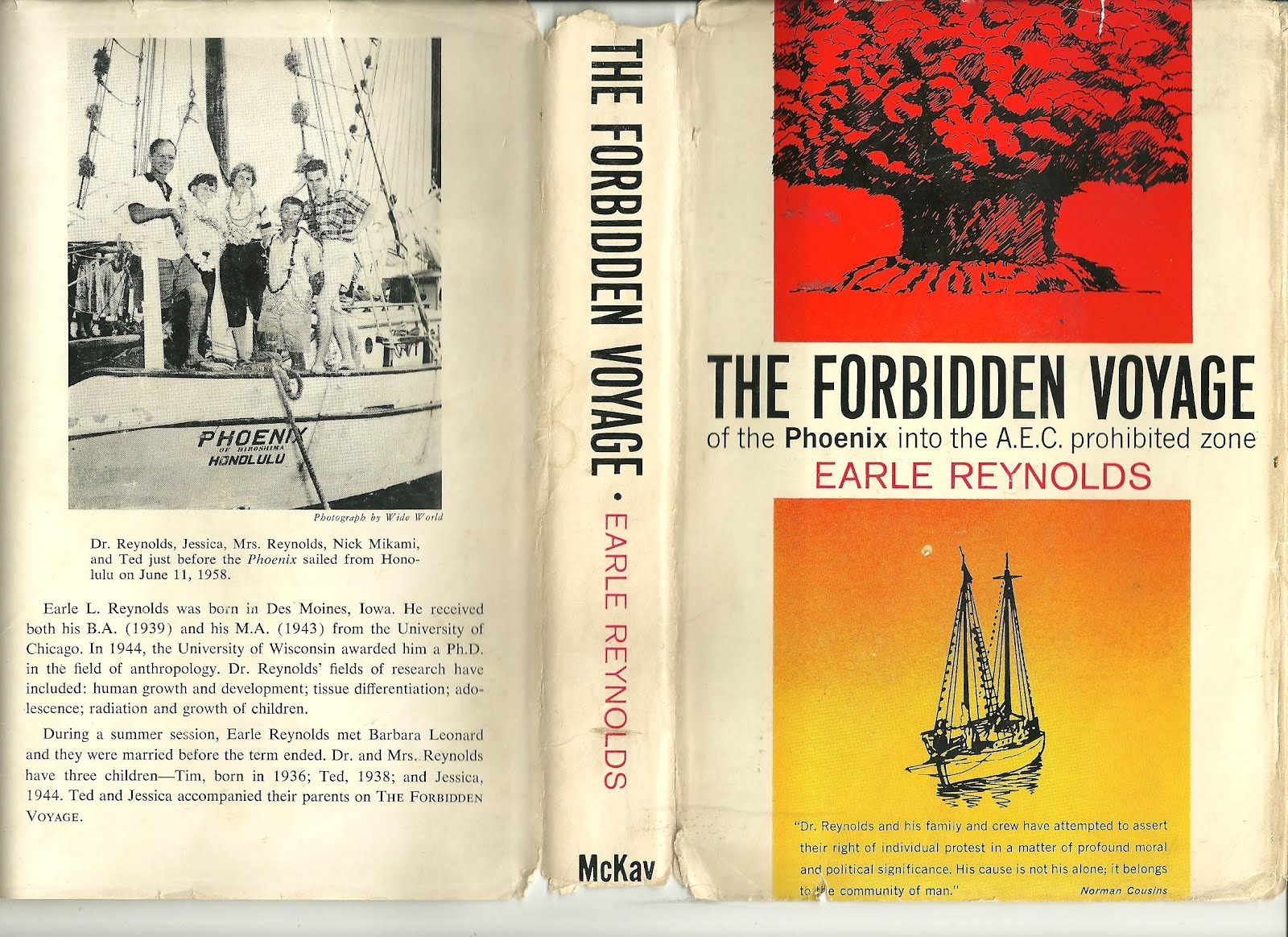 FORBIDDEN VOYAGE - Click on cover