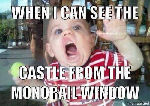 Monorail Window Washing Is A Full Time Job