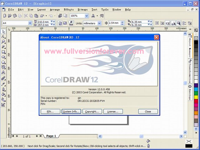 Download Corel Draw 12 Portable Free