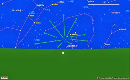 Hujan Meteor Ursid Muncul Akhir Pekan Ini