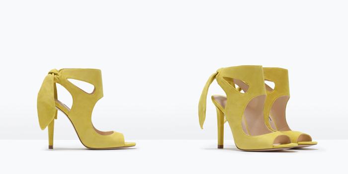 Catalogo de zapatos sandalias botines sneakers bluchers de nueva coleccion de Zara