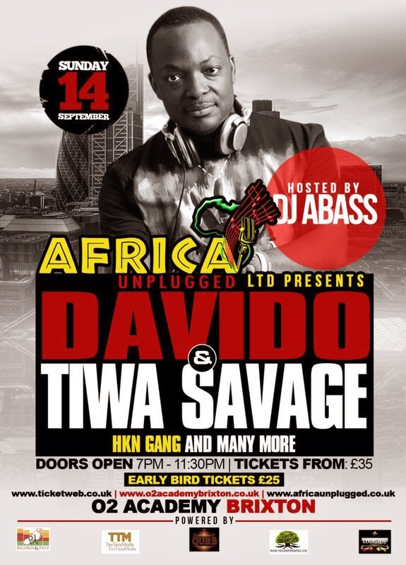 DJ ABASS to host AFRICA UNPLUGGED CONCERT 2014 in Sept
