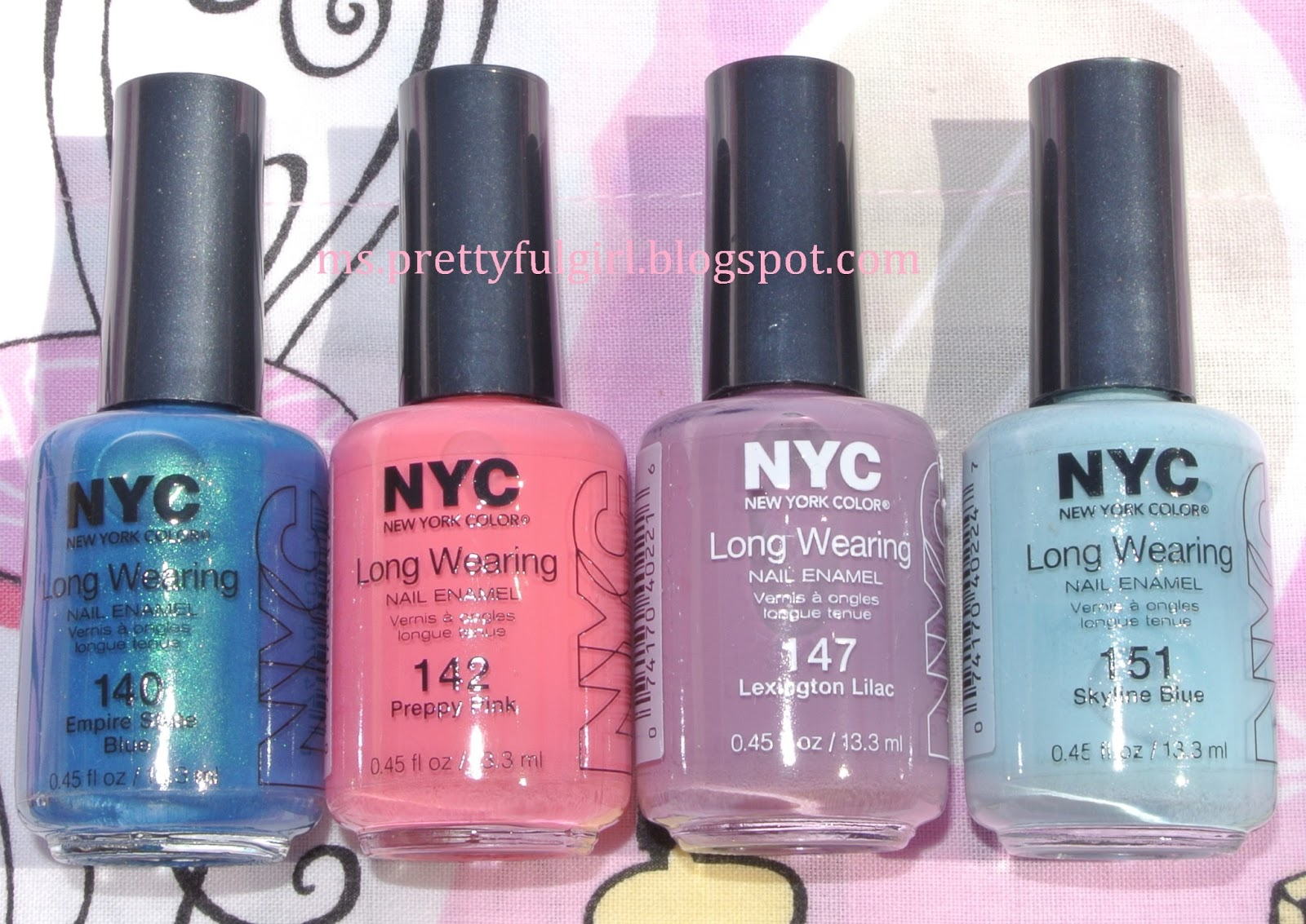 Ms. Prettyful Girl: Buy and Blog: NYC Long Wearing Nail Enamel