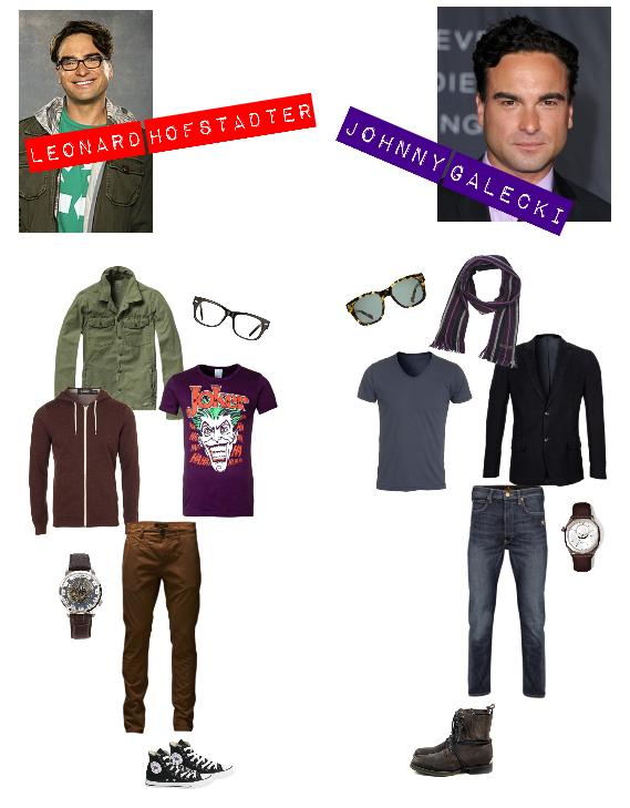 The Big Bang Theory, Fashion Face Off, Johhny Galecki, Leonard Hofstadter