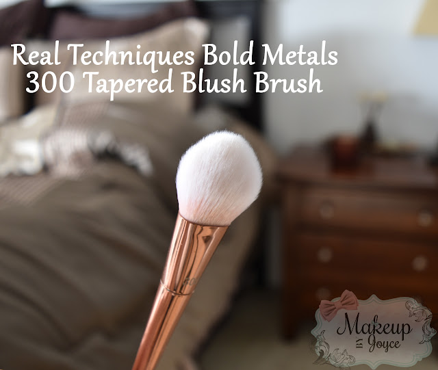 Real Techniques Bold Metals 300 Brush Review