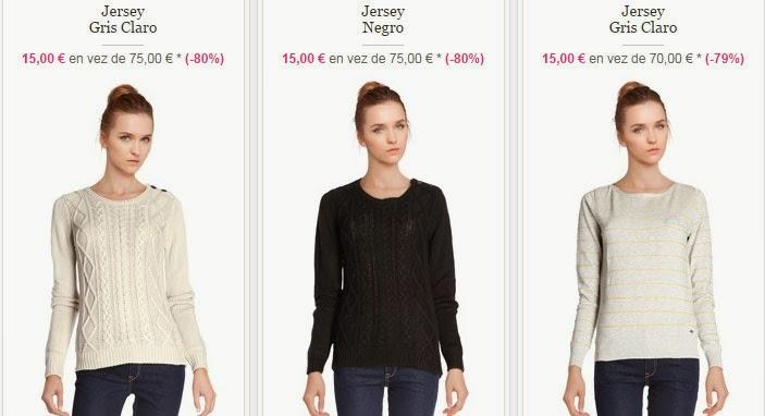 Algunos de los jerséis para mujer que puedes comprar por 15 euros