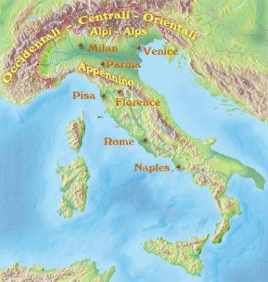 Mappa di provincia d'Italia