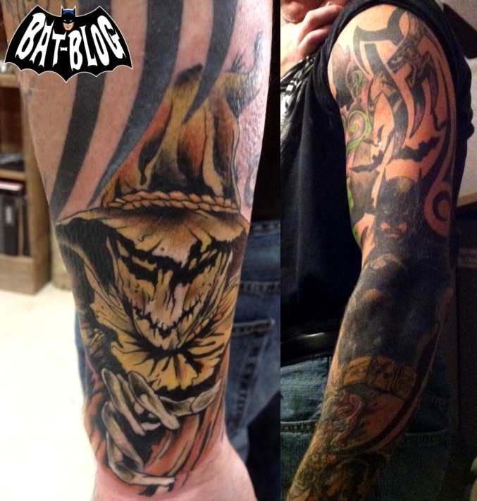 Cool BATMAN TATTOO ART Photos - The Riddler and Scarecrow!