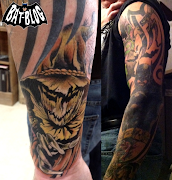 Check out this amazing Batman Tattoo Art a Fan of the BatBlog recently sent .
