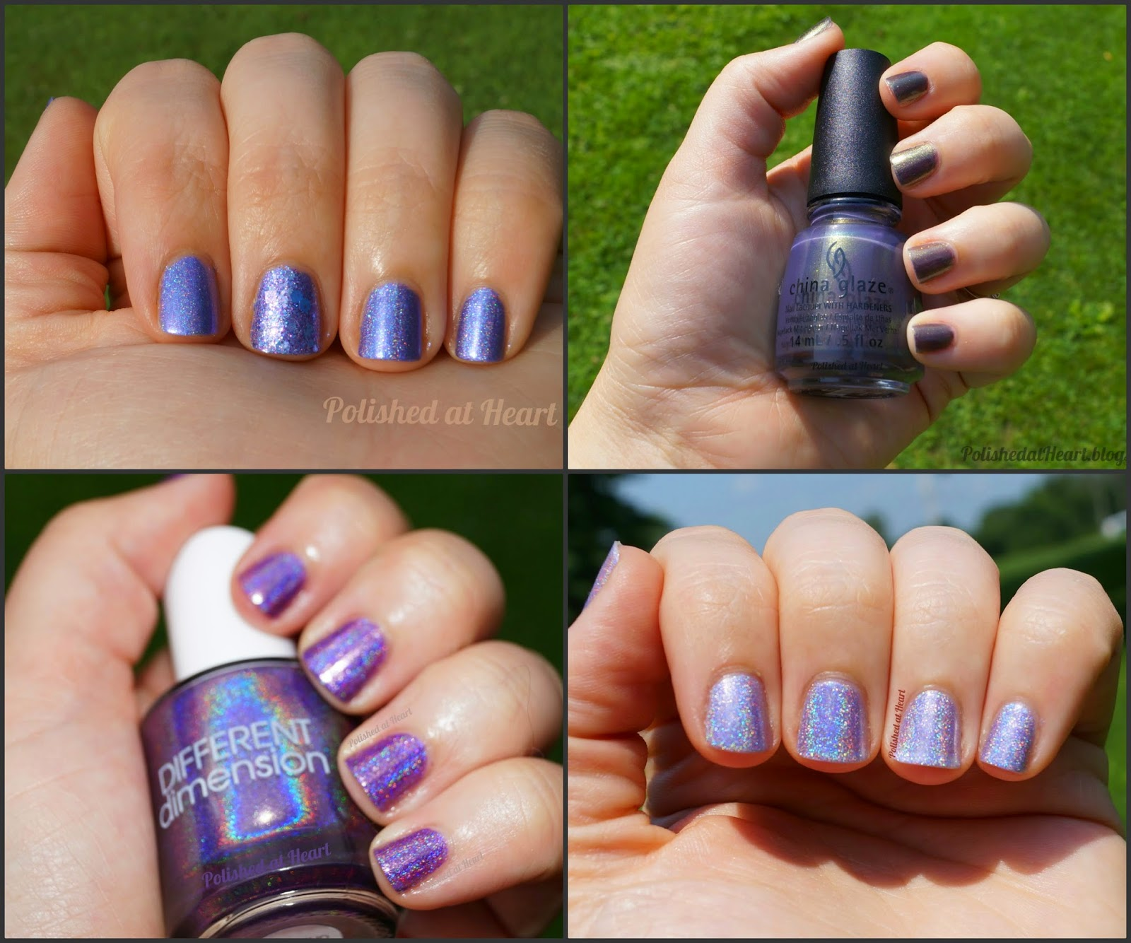 BEGL, ATC, DD, Different Dimension, China Glaze, Lynnderella, blue-eyed girl lacquer, above the curve