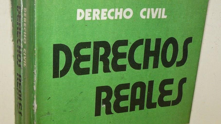 Derechos reales y Derecho civil