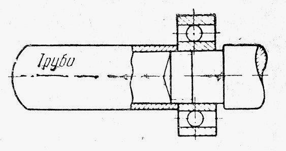 Отрезок трубы подходящего диаметра