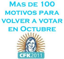 #CFK2011 [Actualizado 08/09/2011]