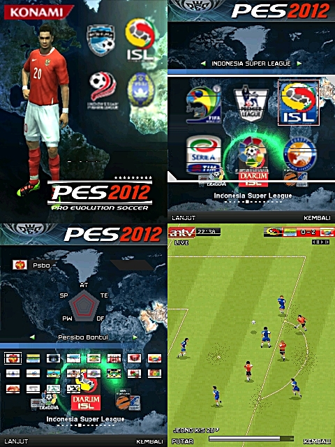 Game Java PES 2012 Versi ISL