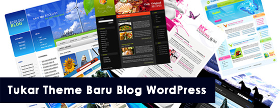 Sagitaurus.com tukar theme baru blog WordPress