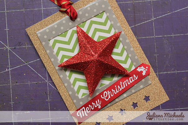 Star Christmas Gift Tags Tutorial 17 by Juliana Michaels