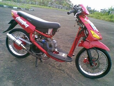 modifikasi motor balap