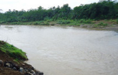 Sungai cijolang dan bendung matenggeng