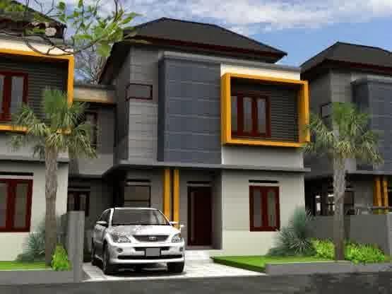 desain rumah minimalis modern 2 lantai desain rumahku