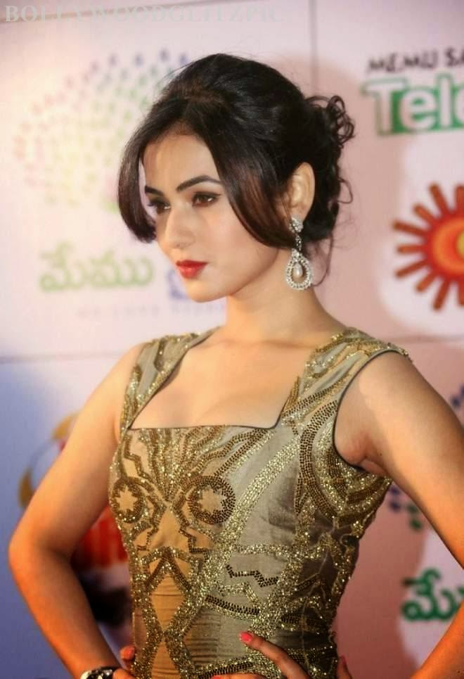 sonal chauhan hot wallpapers in gown