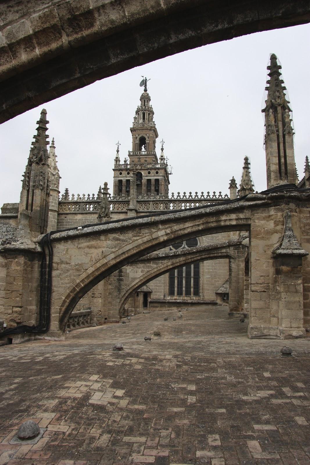 Un paseo por las cubiertas de la catedral de sevilla el - El tiempo en sevilla la nueva ...
