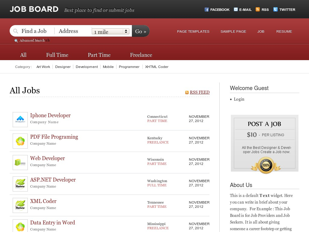 best wordpress job board themes for  jobboard offers wide range of features to create the powerful wordpress job board blog multiple post types advanced monetization options dedicated blog